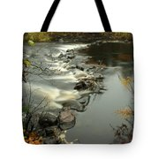 Temperance River Campground View Tote Bag