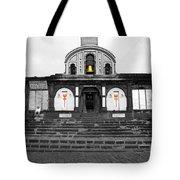 Temple At India Tote Bag