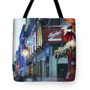 Temple Bar, Dublin, Co Dublin, Ireland Tote Bag