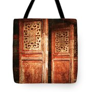 Temple Door Tote Bag