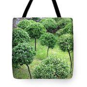 Temple Garden Trees Tote Bag