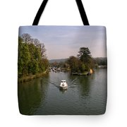 Temple Lock On The River Thames Tote Bag