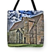 Temple Manor Tote Bag