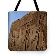 Temple Of Dendara Egypt Tote Bag