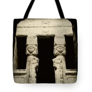 Temple Of Hathor Tote Bag