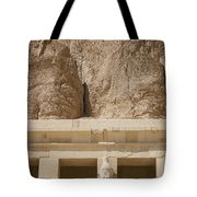Temple Of Hatshepsut Tote Bag