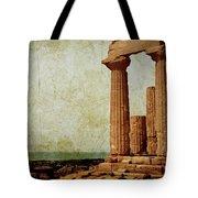 Temple Of Juno Tote Bag