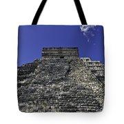 Temple Of Kukulkan Three Tote Bag