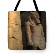 Temple Of Luxor  Egypt Tote Bag