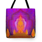 Temple Of The Inner Flame 2012 Tote Bag