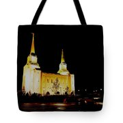 Temple Of The Later Day Saints Tote Bag