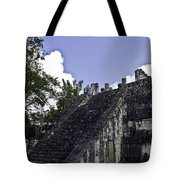 Temple Of The Warriors Three Tote Bag