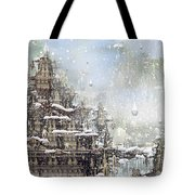 Temples Of The North Tote Bag