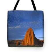 Temples Of The Sun And Moon Tote Bag by Tim Fitzharris