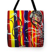 Temptation Of Jesus Tote Bag