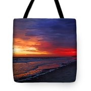 Ten Minutes On The Beach  Tote Bag