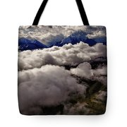 Ten Thousand Feet Over Denali Tote Bag
