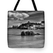 Tenby Harbour 1 Mono Tote Bag