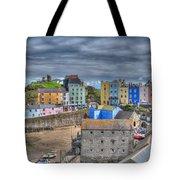 Tenby Harbour In Summer 2 Tote Bag