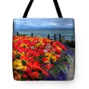 Tenby In Bloom Tote Bag
