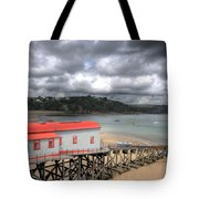 Tenby Lifeboat House Tote Bag