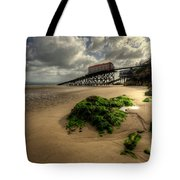 Tenby Lifeboat Ramps Tote Bag