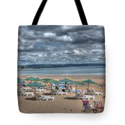 Tenby North Beach 3 Tote Bag