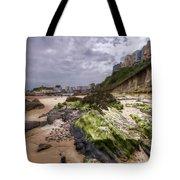 Tenby Rocks Painted Tote Bag