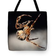 Tending The Web Invisible Tote Bag