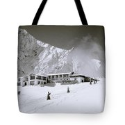 Tengboche Monastery In The Himalayas Tote Bag