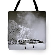 Tengboche Monastery Tote Bag