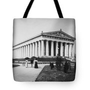 Tennessee Centennial In Nashville - The Parthenon - C 1897 Tote Bag