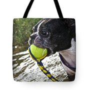 Tennis Ball Mist Tote Bag