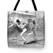 Tennis: Wimbledon, 1880 Tote Bag