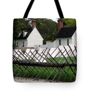 Tenting On The Green Tote Bag