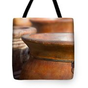 Terracotta Mexican Pottery Tote Bag
