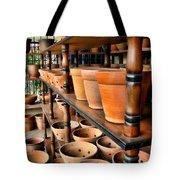 Terracotta Ranks Tote Bag