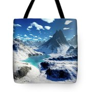 Terragen Render Of An Imaginary Tote Bag