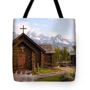 Teton Chapel Tote Bag