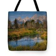 Teton Fall Tote Bag