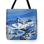 Teton Winter Tote Bag