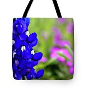 Hill Country Bluebonnet Tote Bag