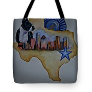 Texas Bound 3 Tote Bag