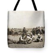 Texas: Cowboys, C1906 Tote Bag
