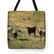 Texas Longhorns Panoramic Tote Bag