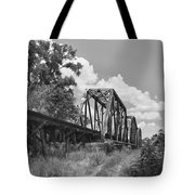 Texas Railroad Bridge Tote Bag