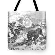 Texas Scene, 1855 Tote Bag