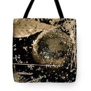 Texture Seeping Tote Bag