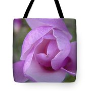 Textured Flowerr Tote Bag
