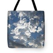 Textured Skies Tote Bag